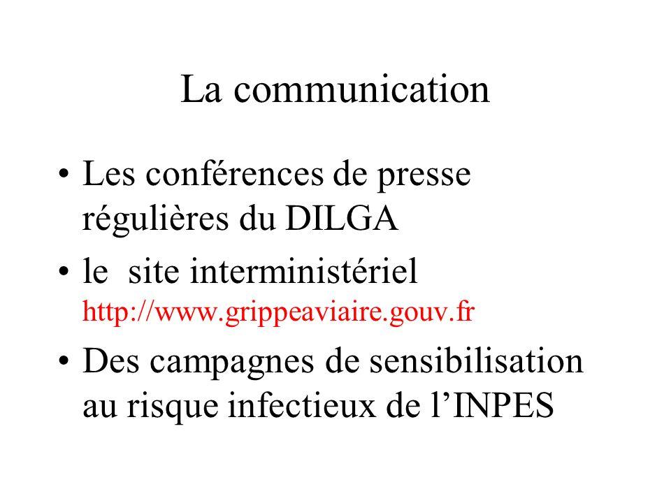 La communication Les conférences de presse régulières du DILGA