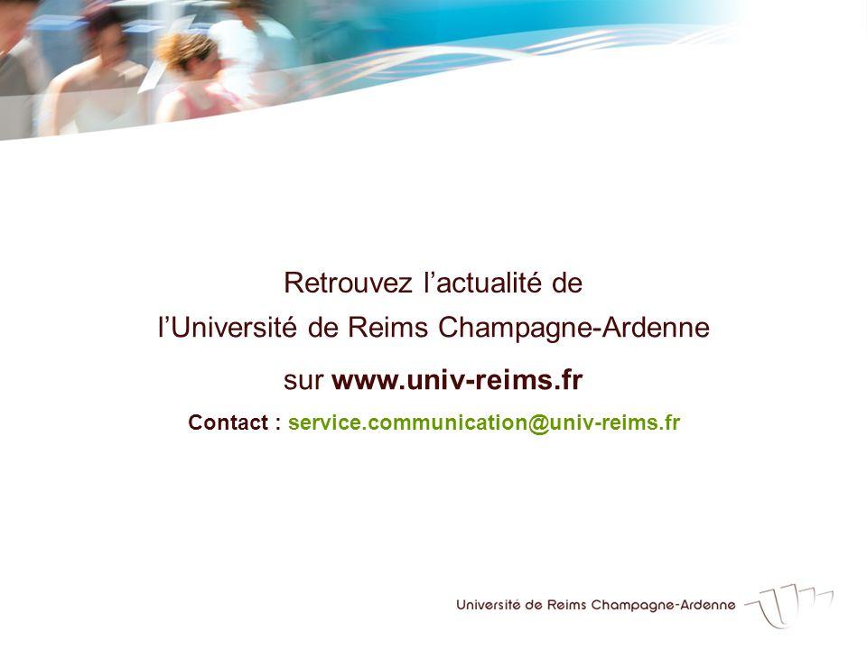 Contact : service.communication@univ-reims.fr