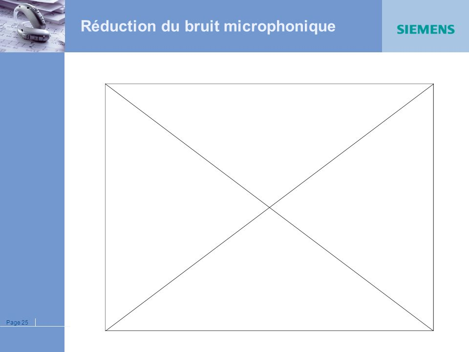 Réduction du bruit microphonique