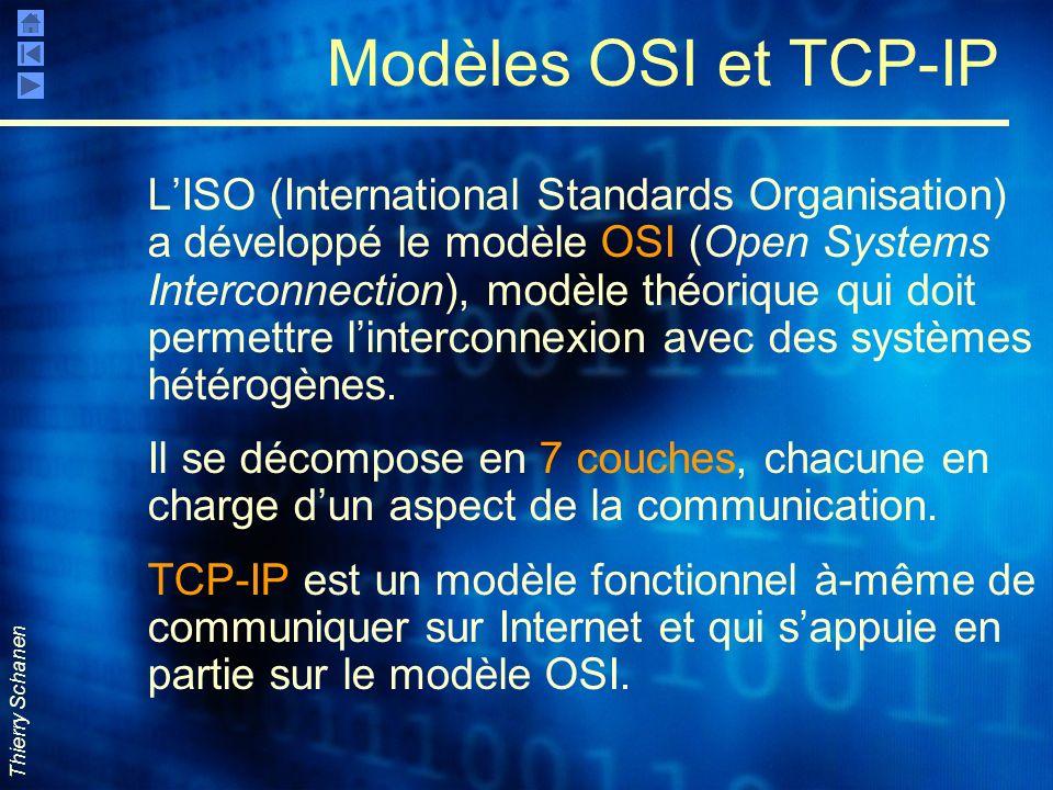 Modèles OSI et TCP-IP