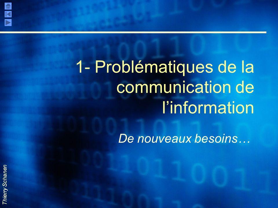 1- Problématiques de la communication de l'information
