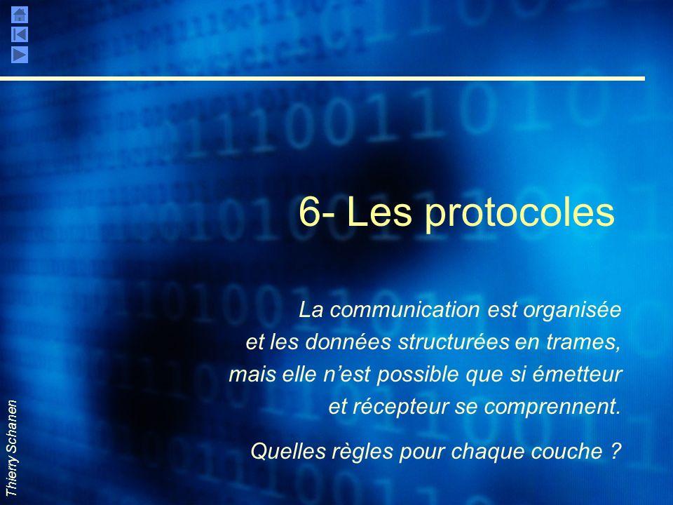 6- Les protocoles La communication est organisée