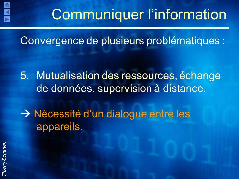 Communiquer l'information