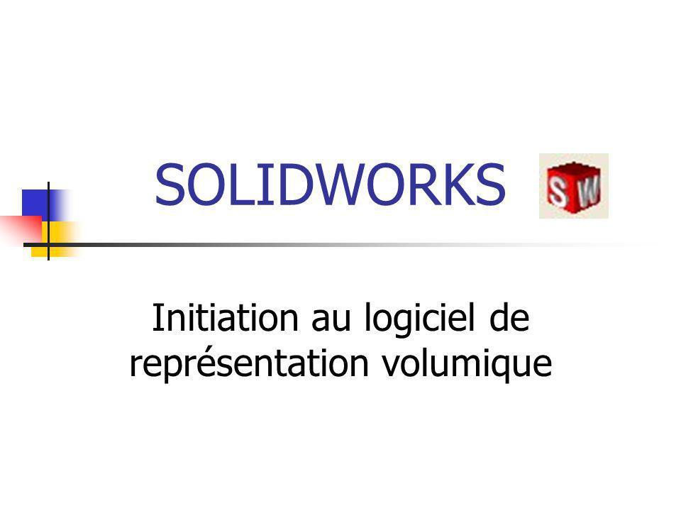 Initiation au logiciel de représentation volumique