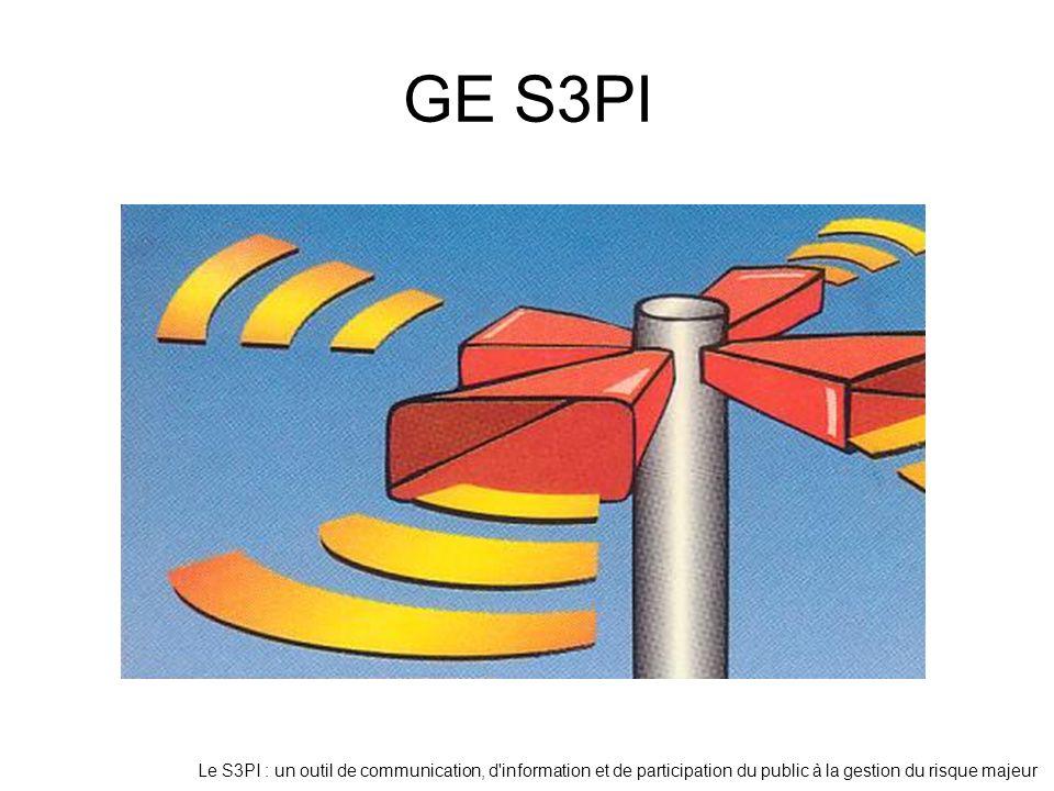 GE S3PI Le S3PI : un outil de communication, d information et de participation du public à la gestion du risque majeur.