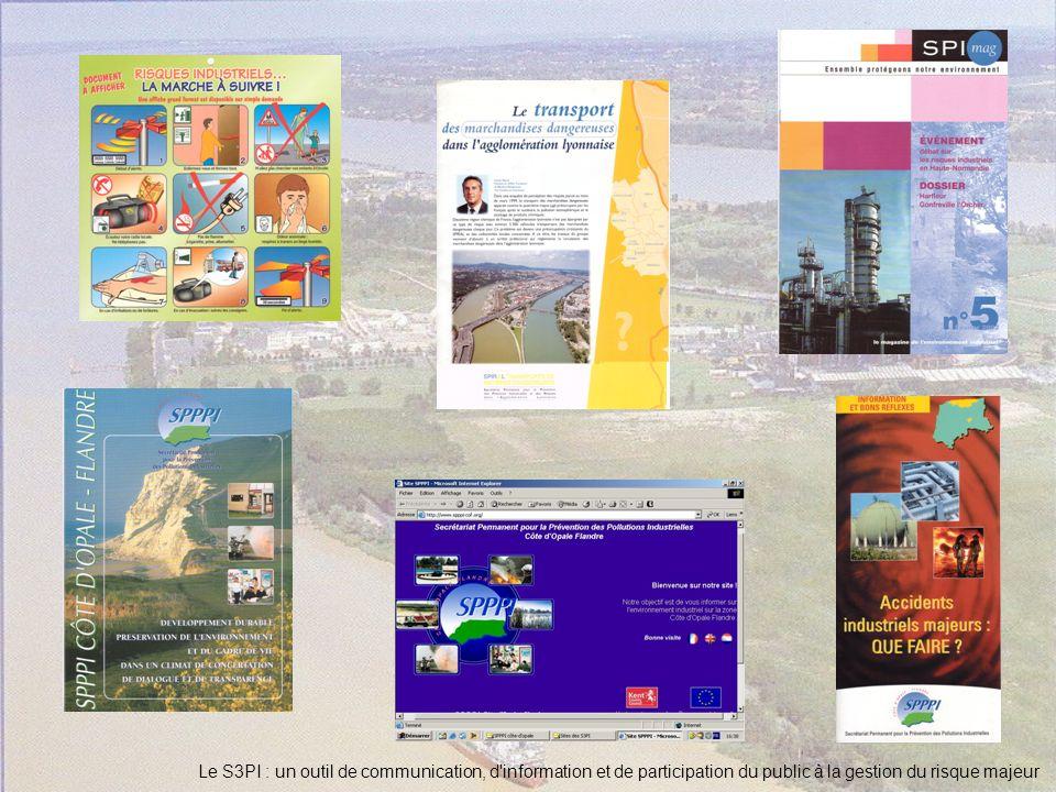 Le S3PI : un outil de communication, d information et de participation du public à la gestion du risque majeur