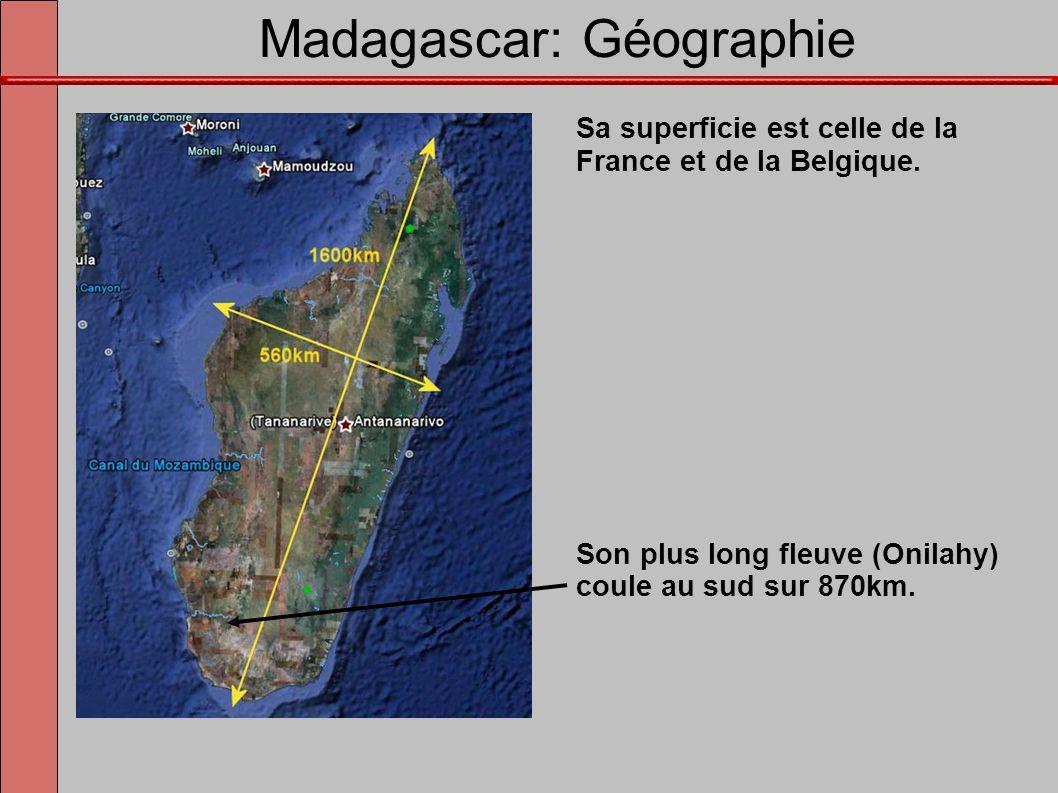 Madagascar: Géographie