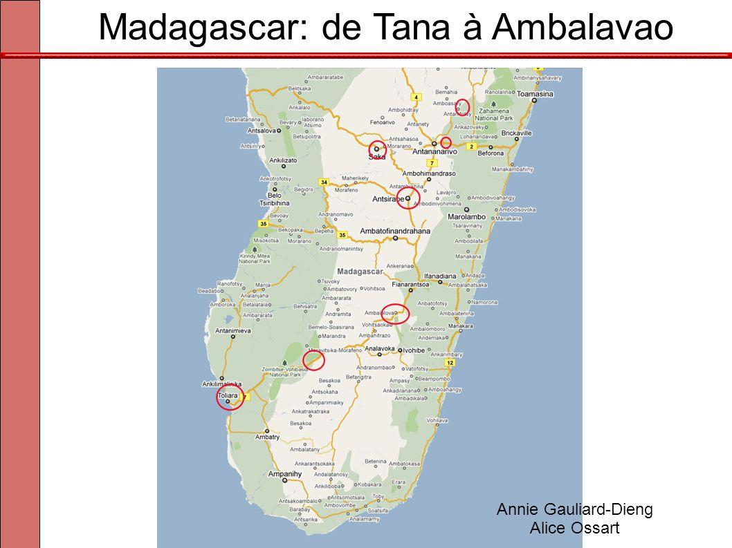 Madagascar: de Tana à Ambalavao