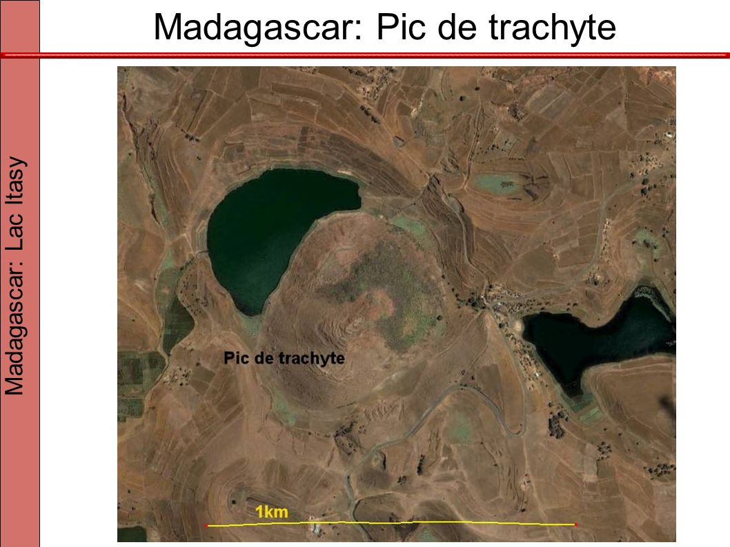 Madagascar: Pic de trachyte