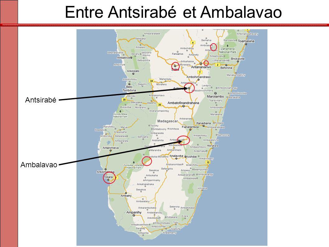 Entre Antsirabé et Ambalavao