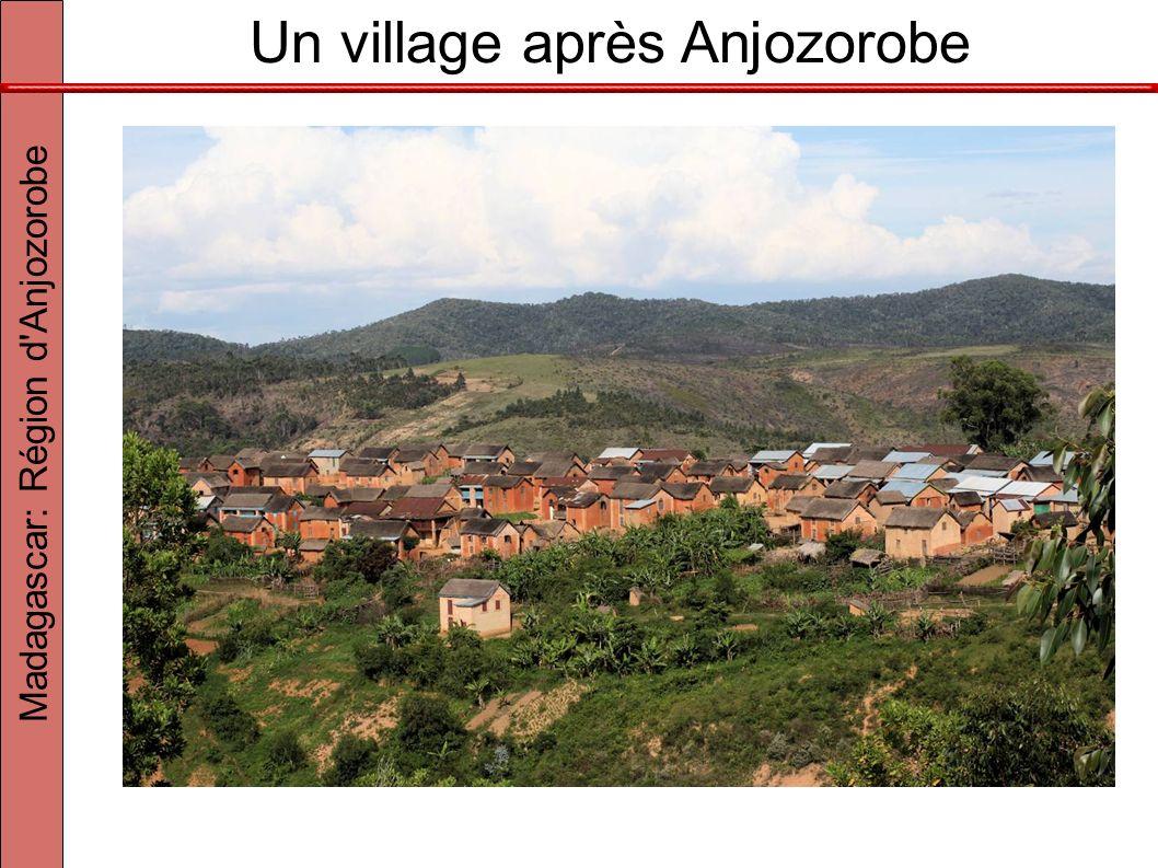 Un village après Anjozorobe