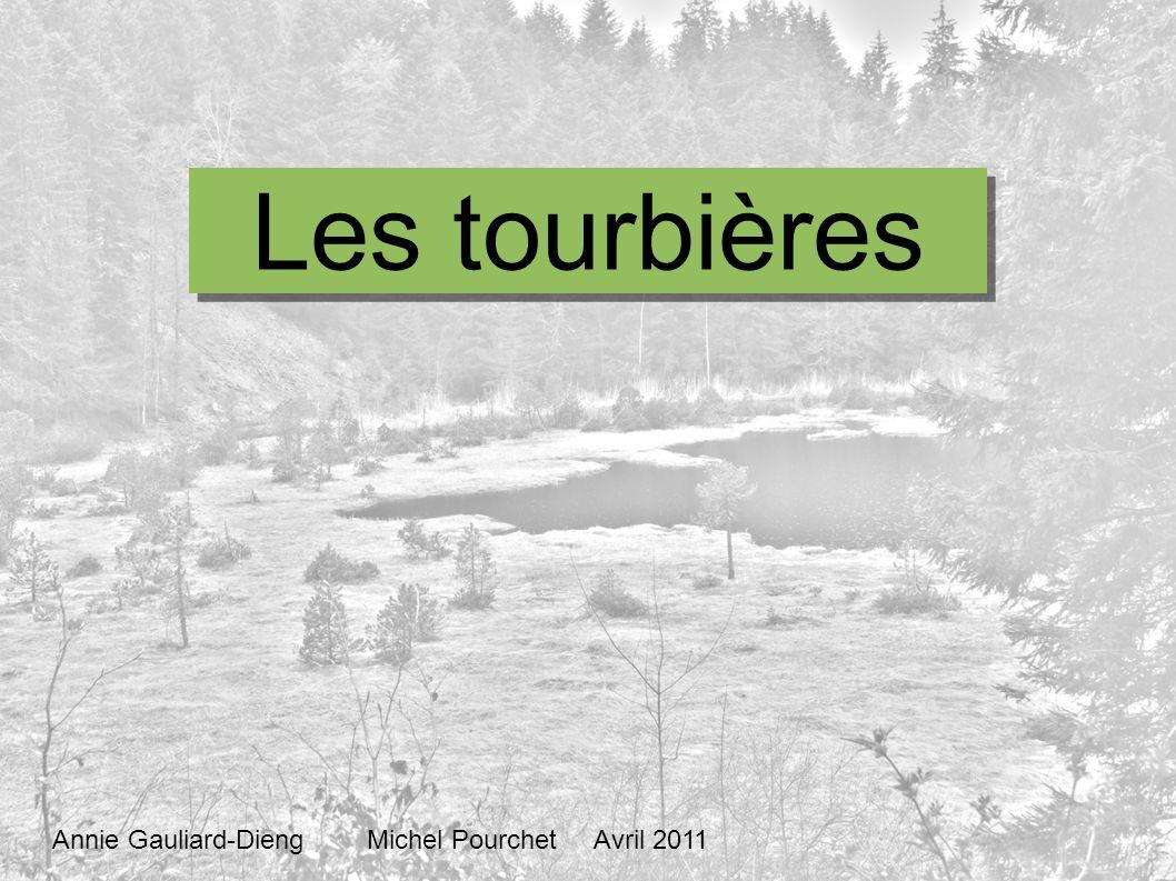 Les tourbières Annie Gauliard-Dieng Michel Pourchet Avril 2011
