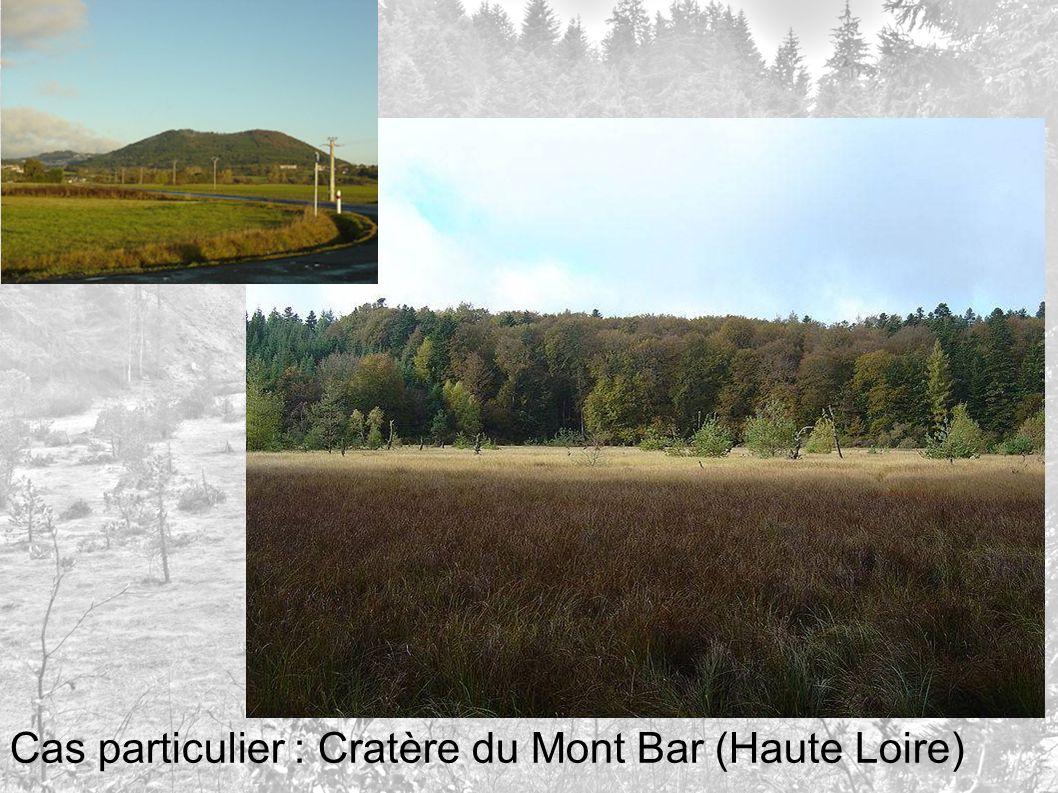 Cas particulier : Cratère du Mont Bar (Haute Loire)