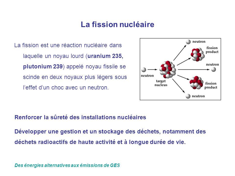 La fission nucléaire