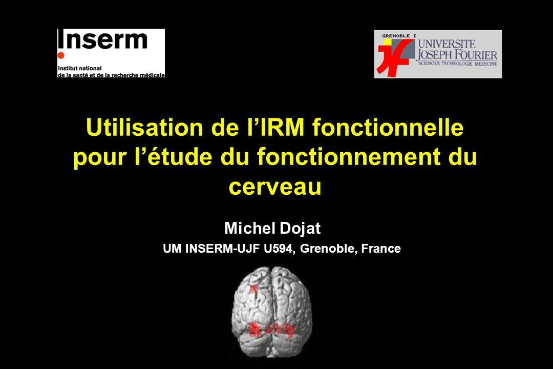 Michel Dojat UM INSERM-UJF U594, Grenoble, France