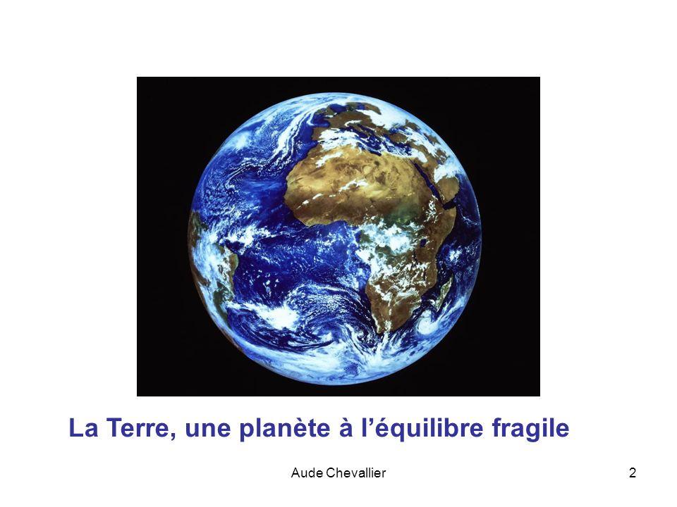 La Terre, une planète à l'équilibre fragile
