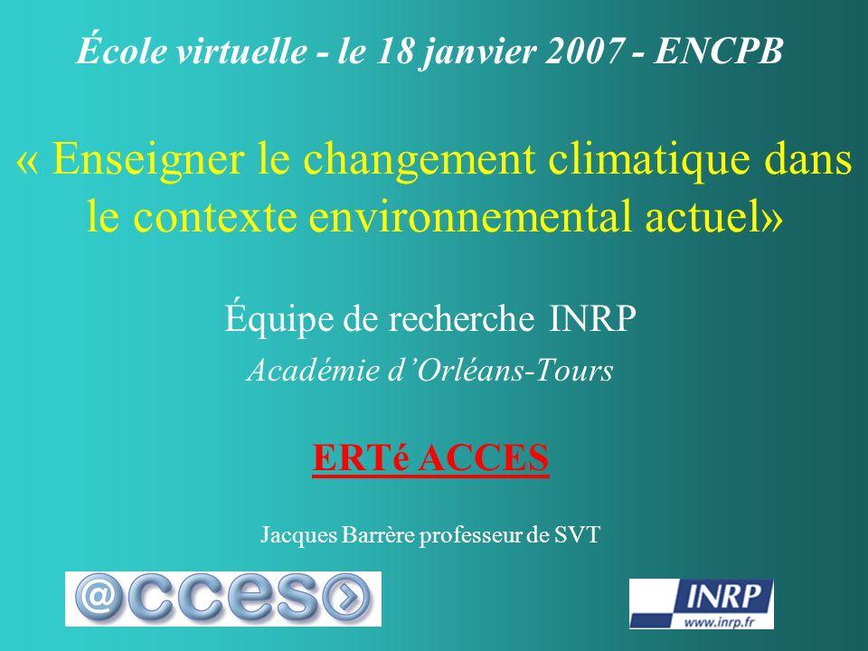 École virtuelle - le 18 janvier 2007 - ENCPB