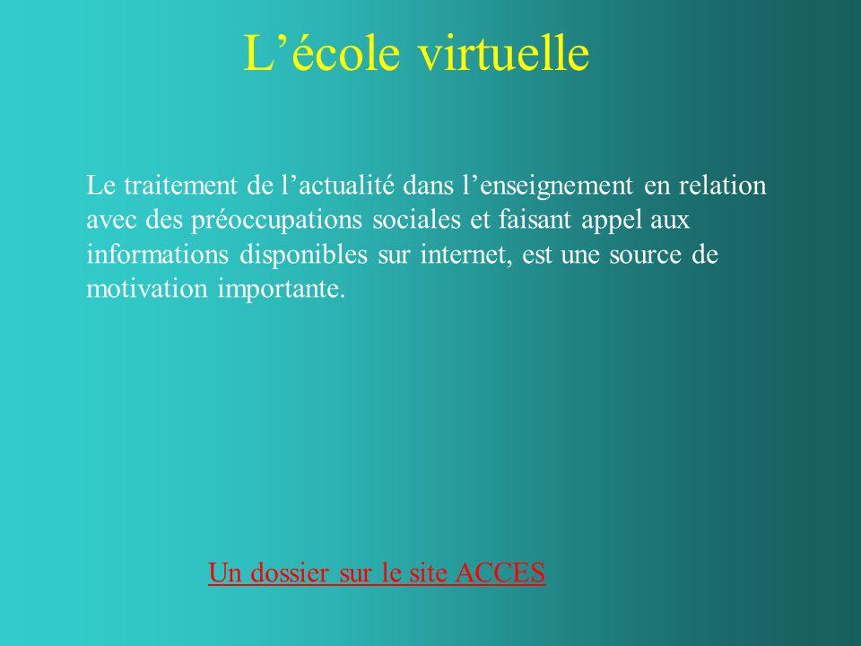 L'école virtuelle