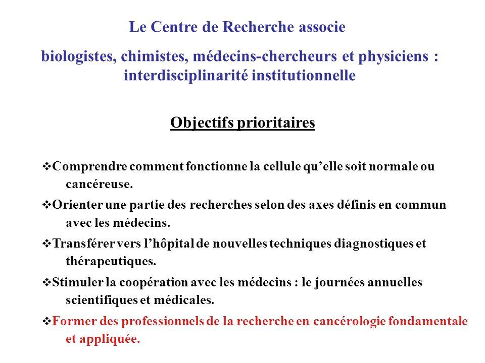 Le Centre de Recherche associe