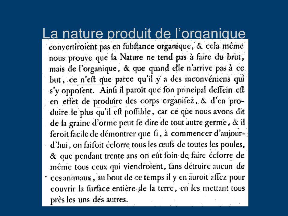 La nature produit de l'organique HN, Tome 2, 1749 p.39