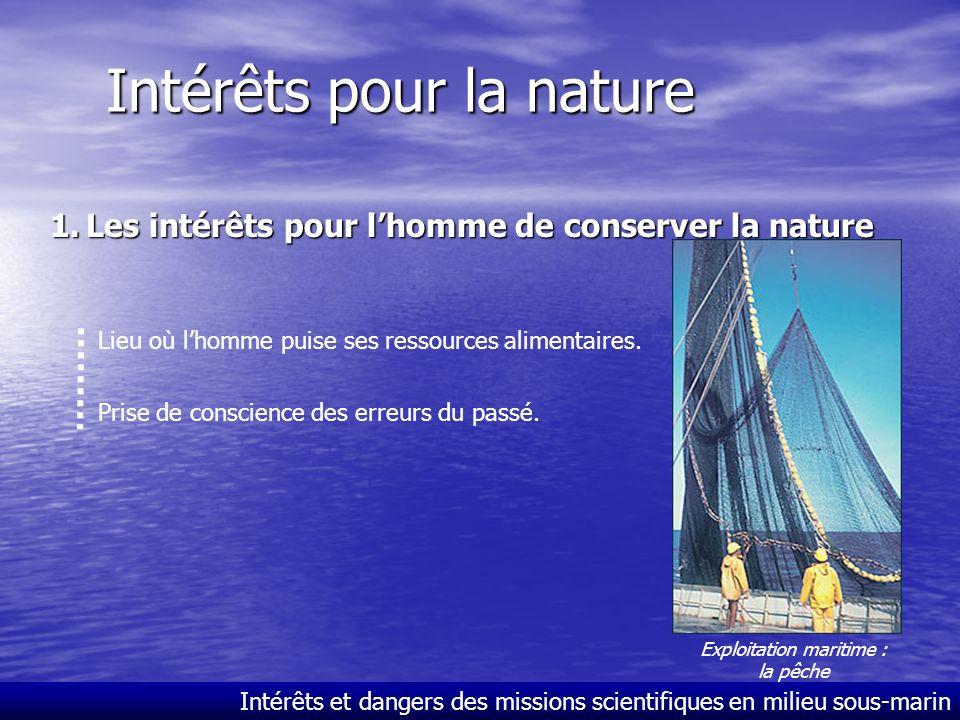 Intérêts pour la nature