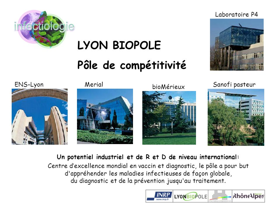 Un potentiel industriel et de R et D de niveau international: