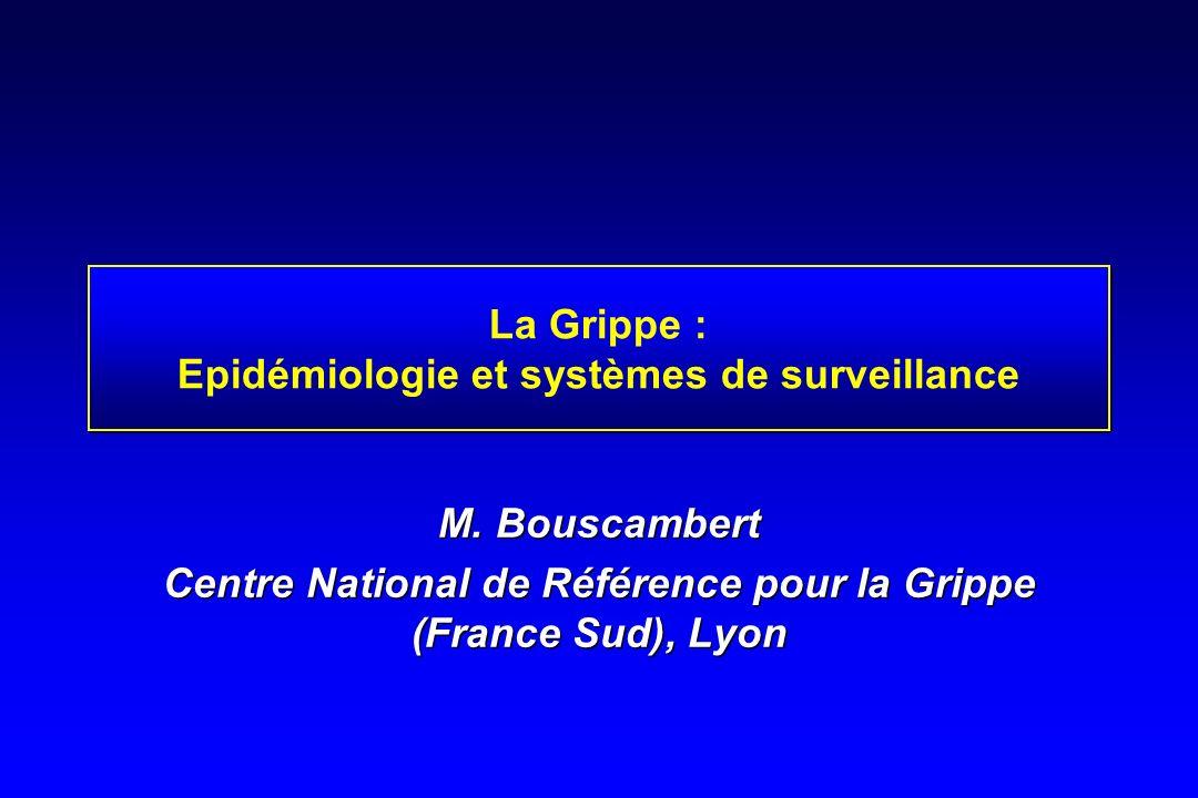 La Grippe : Epidémiologie et systèmes de surveillance