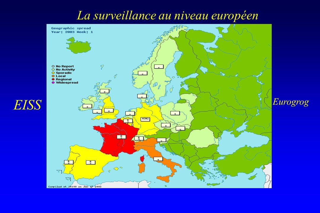 La surveillance au niveau européen