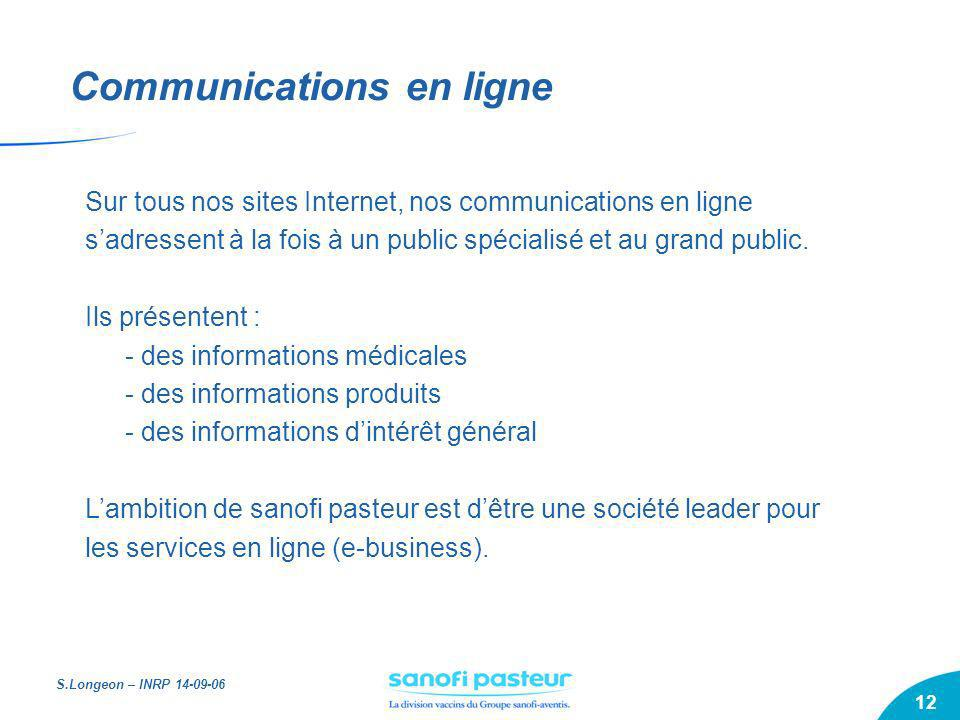 Communications en ligne