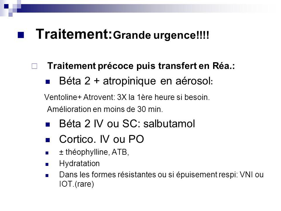 Traitement:Grande urgence!!!!