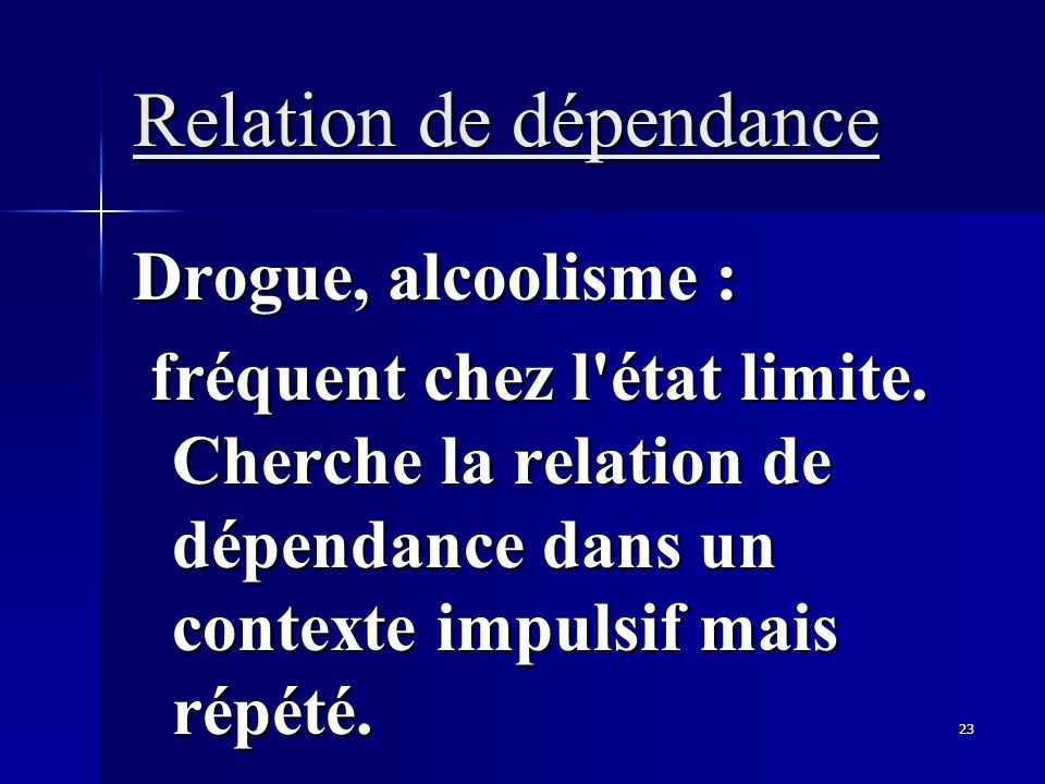 Relation de dépendance
