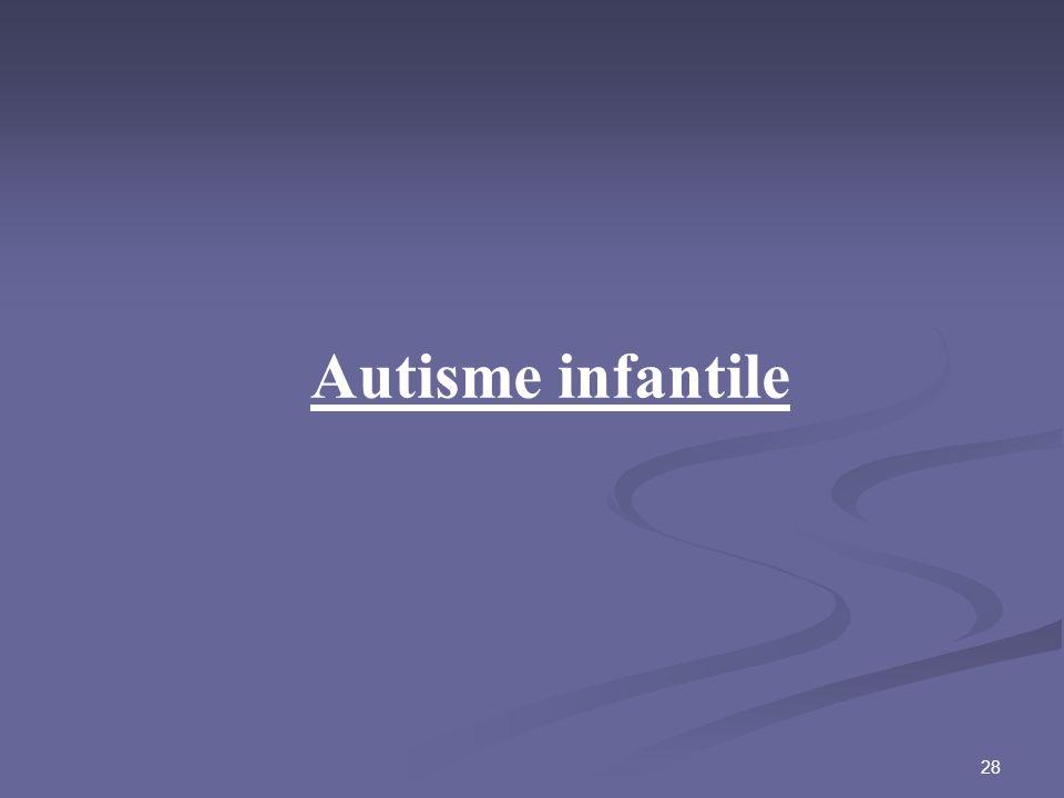 Autisme infantile