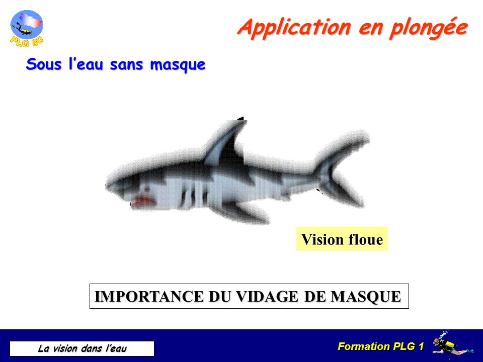 Application en plongée
