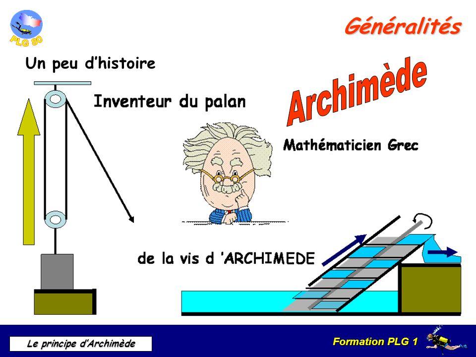 Archimède Généralités Un peu d'histoire Un peu d'histoire