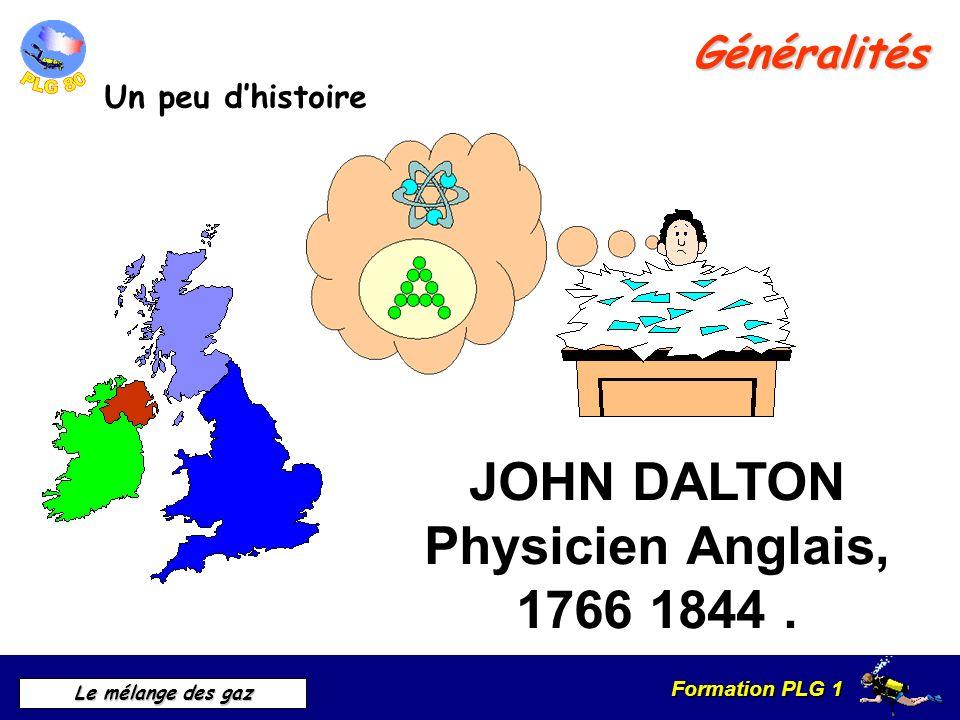 JOHN DALTON Physicien Anglais, 1766 1844 .