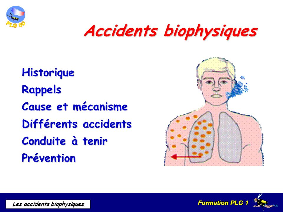Accidents biophysiques