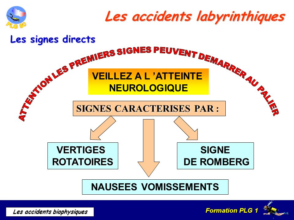 Les accidents labyrinthiques