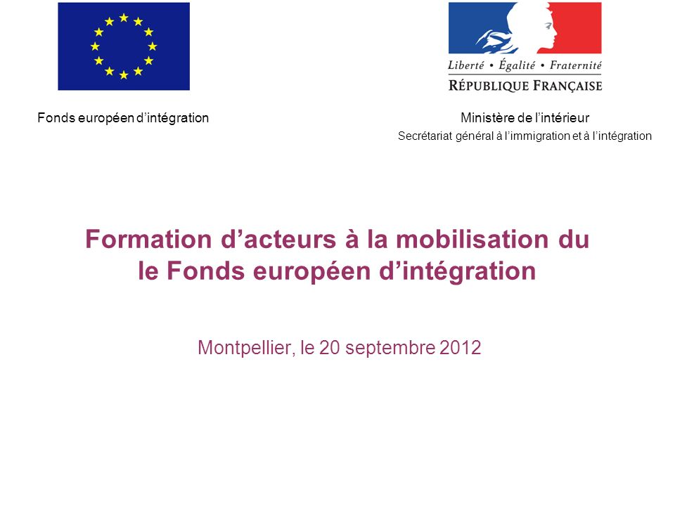 Montpellier, le 20 septembre 2012