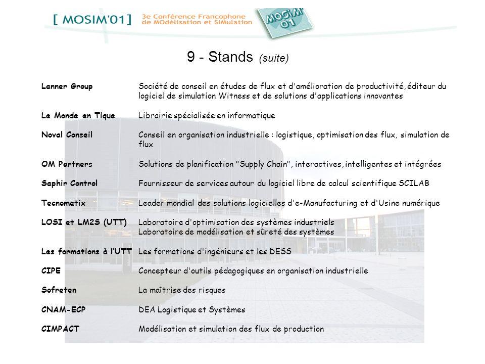 9 - Stands (suite)