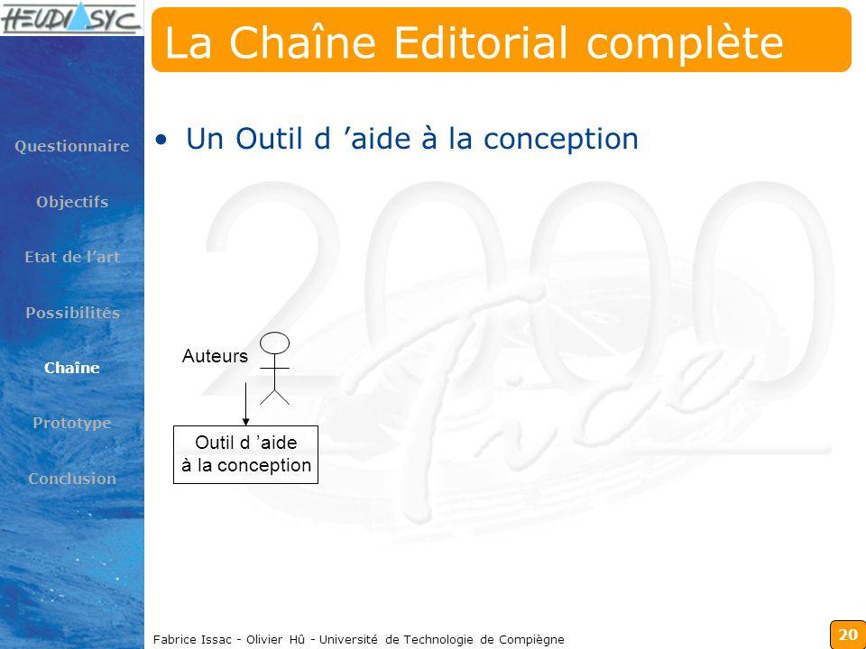 La Chaîne Editorial complète