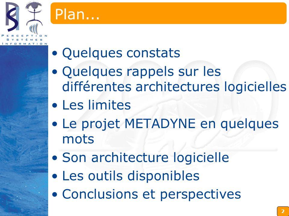 Plan... Quelques constats