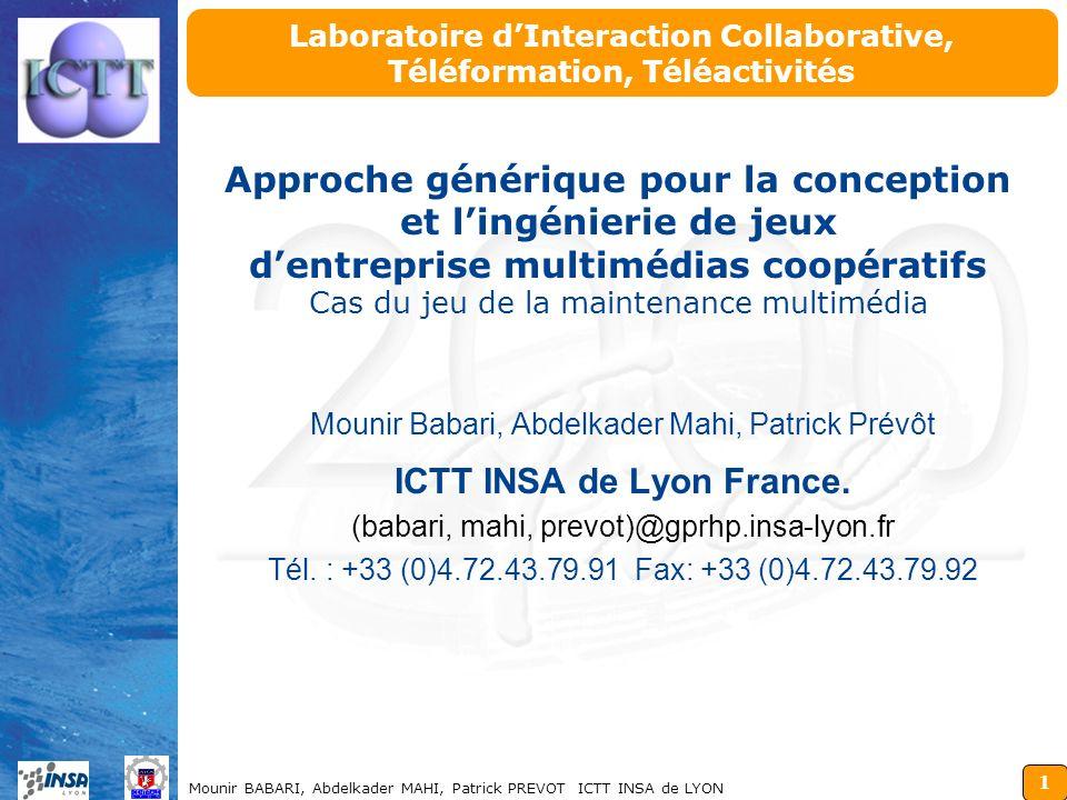 Laboratoire d'Interaction Collaborative, Téléformation, Téléactivités