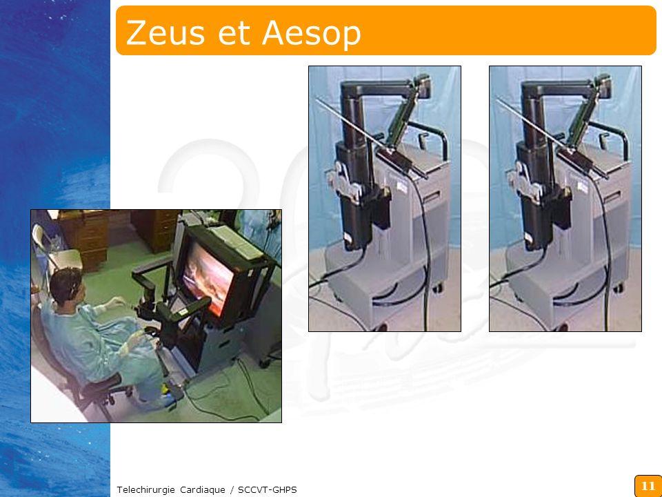 Zeus et Aesop Telechirurgie Cardiaque / SCCVT-GHPS
