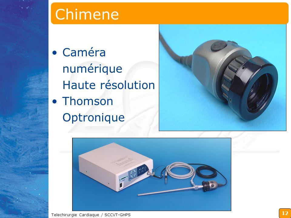 Chimene Caméra numérique Haute résolution Thomson Optronique
