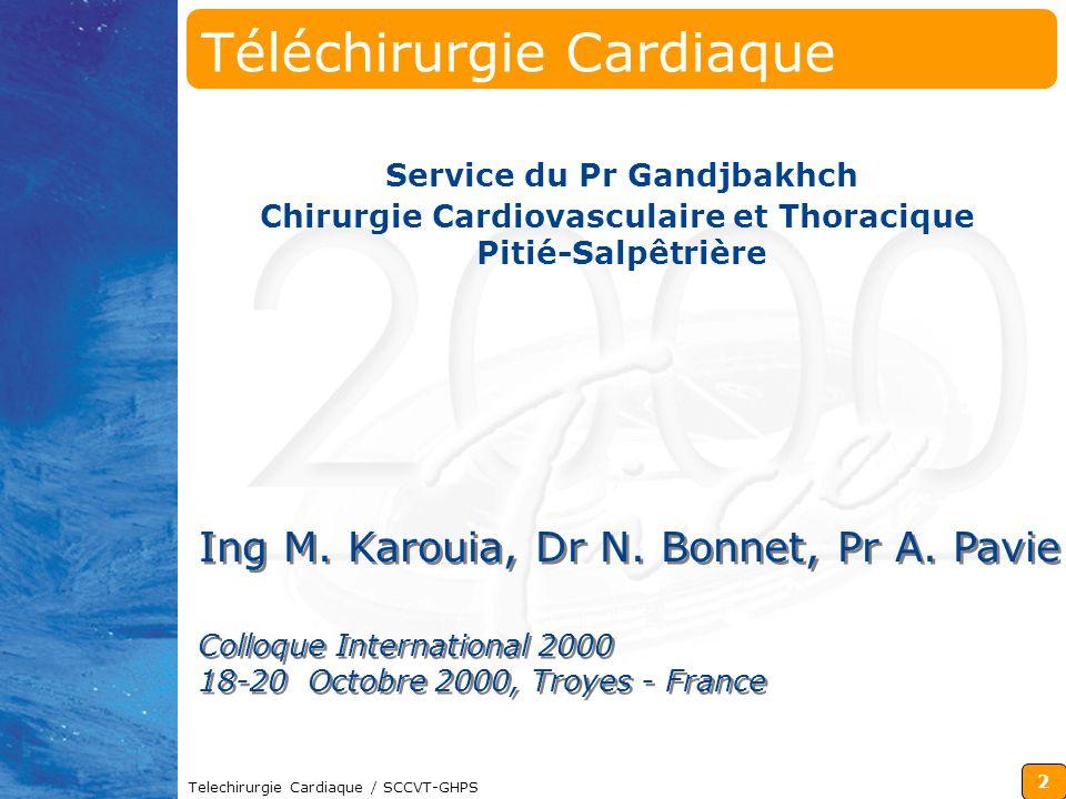 Téléchirurgie Cardiaque