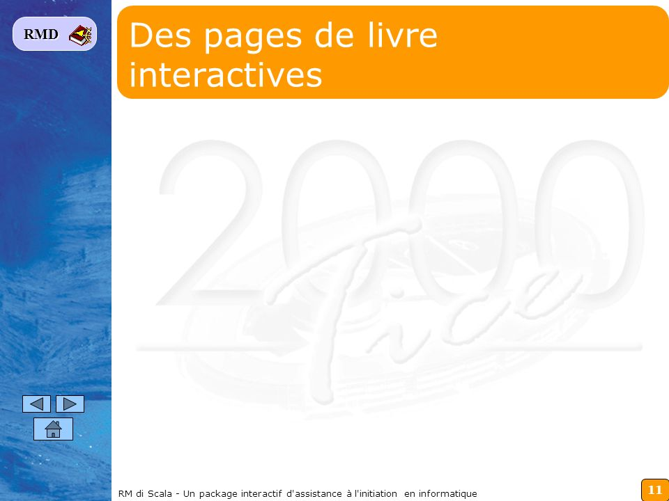 Des pages de livre interactives