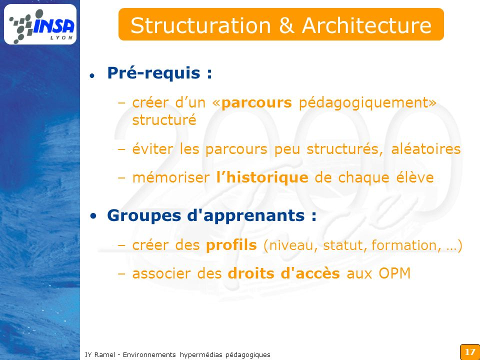 Structuration & Architecture