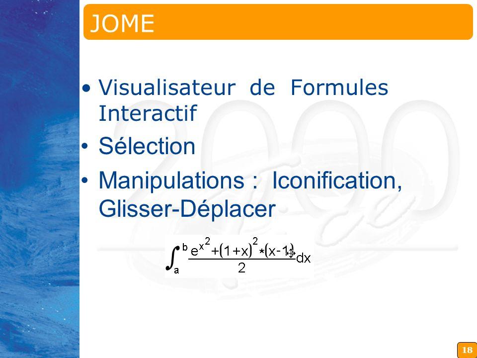 JOME Java OpenMath Editor