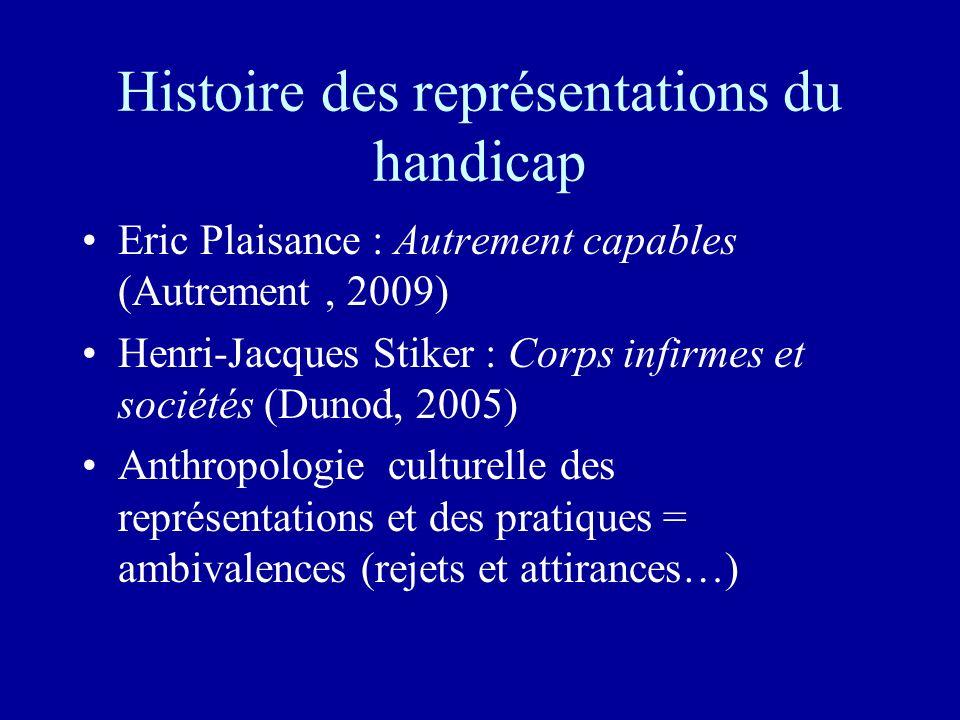Histoire des représentations du handicap