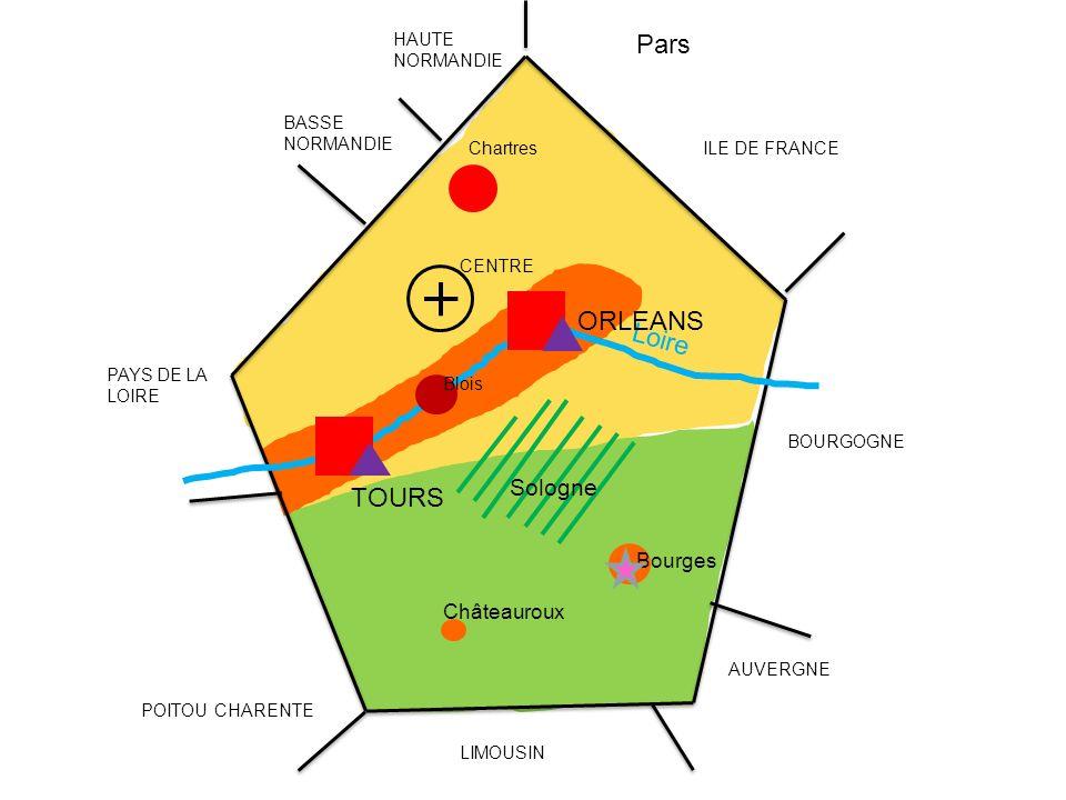 Pars ORLEANS Loire TOURS Sologne Bourges Châteauroux HAUTE NORMANDIE